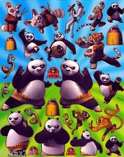KUNG FU PANDA IN MANY POSE SCRAPBOOK STICKERS OR DECOR HQ (BUY 5 MIX FREE 1)