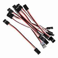 50 pcs 200mm Male to Male JR Plug Servo Extension Lead Wire Cable RC Model Part