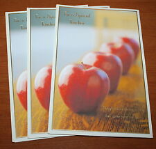 (3) New Greeting Cards For Your Favorite Teacher with Envelopes