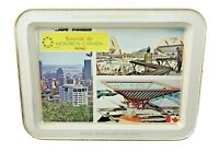 Expo 67 Metal Tray – The Pavilion of Canada Theme – 1967 World's Fair – 11″ x 8″