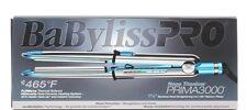 "Babyliss Pro Nano Titanium Prima 3000 Flat Iron 1.25"" with THERMAL GLOVE"