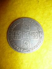 Scarce George II Shilling Coin 1745L - UK / GB