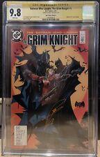Batman Who Laughs The Grim Knight 1 CGC SS 9.8 Tan Signed McFarlane Homage