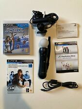 PLAYSTATION 3 (PS3) MOVE BUNDLE SPORTS CHAMPION; Tested, complete + charge cable