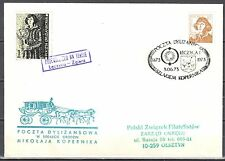 Poland 1973 - Stagecoach Post on the trail of Copernicus. Leczyca - Zgierz