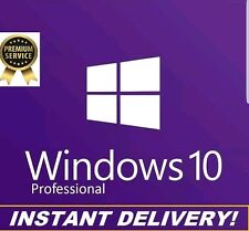 GENUINE WINDOWS 10 PRO PROFESSIONAL 32 / 64 BIT GENUINE PRODUCT LICENSE KEY