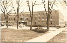 West Men's Hall at South Dakota State College in Brookings SD RP Postcard