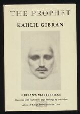 THE PROPHET by Kahlil Gibran 1970 HCDJ 86th Printing ALFRED A KNOPF Borzoi Book