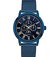 Guess  Men's Dressy Blue Multi-function Watch - U0871G3