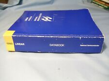Vintage National Semiconductor 1980 Linear Databook - 12 Sections, 1200 Pages