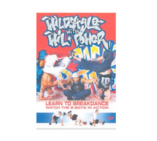 Wild Style With Wil Power DVD Break dance learning lessons Run DMC Style UK NEW