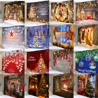 Christmas Backdrop Home Tapestry Xmas Party Decoration Photography Background