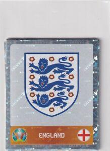 Panini Euro Em 2020 - 2021 Tournament Edition Sticker No. 401 Logo England