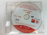 Game Of Thrones PS3 Game Playstation 3 PROMO ONLY DISC