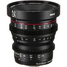 Meike 25mm T2.2 Manual Focus Cinema Lens (MFT Mount) **New**