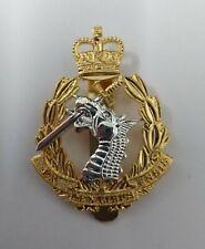 Genuine British Army RADC Dental Corps Issue Insignia Metal Dress Hat Badge