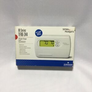 Emerson 1F80-344 5-1-1 Day Programmable Thermostat for Single-Stage Systems