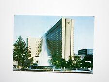 IMPERIAL HOTEL TOKYO JAPAN VINTAGE POSTCARD & STAMP C1960-80