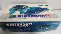 Nintendo 64 Clear Blue Console Controller cable Japanese with Box