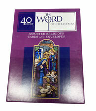 American Greetings Christmas Card Religious Box of 40 With Envelopes New