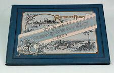 1894 | LARGE portfolio of PHOTO plates | ZURICH trade FAIR | fashion inventions