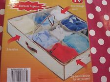 Space Saving Clothes Organiser/ Storage with Sections Brand New in Original Box