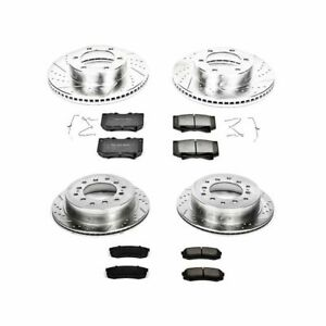 PowerStop for 01-02 Toyota Sequoia Front & Rear Z23 Evolution Sport Brake Kit
