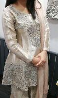 Women's Asian pakistani Indian Latest Fashion stunning wedding party eid dress