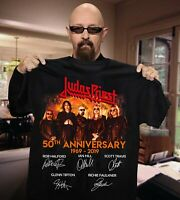 JUDAS PRIEST 50TH ANNIVERSARY SHIRT