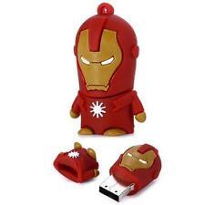 Iron Man cartoon novelty 16GB USB 2.0 flash drive memory stick