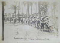 Foto - Guerra Libia - Quando non si fa istruzione costruiscono strade - 1912 ca.