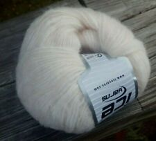 Sale! One Skein Ice Softair Alpaca Yarn In Oyster (discontinued)