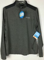 NEW! Men's Columbia 1/4 Zip Pullover Polyester Blend Omni Shade Wick VARIETY!
