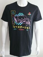 Playstation Mens Graphic Tee Black 100% Cotton Size L T-Shirt