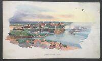 Vintage Postcard Jamestown 1632 D39