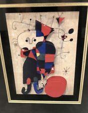 Joan MIRO (After) 3D Mixed Media Art - Reproduction Of Famous Art