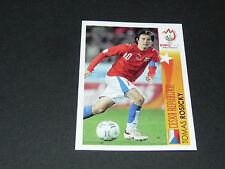 N°500 TOMAS ROSICKY CESKA REPUBLIKA CESKO PANINI FOOTBALL UEFA EURO 2008