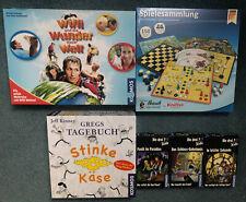 Kosmos Spiele Sammlung Brettspiele für Kinder Die drei??? Kids Gregs Tagebuch