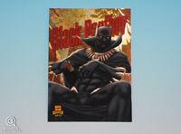 2013 Fleer Marvel Retro Black Panther Power Blast Card Limited Insert #1 of 21