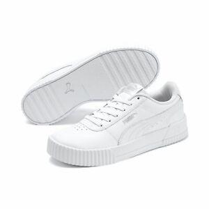Puma CARINA L Damen Streetstyle Sneaker Clubwear 370325 Puma White