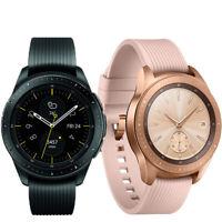 Samsung Galaxy Watch 42mm R810 Smartwatch Black Rose Gold Android IOS Sport