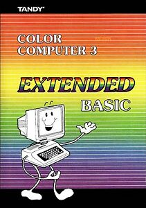 Tandy Color Computer 3 Extended Basic * PDF * CDROM