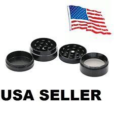 Black Mini 4 Layers Metal Tobacco Crusher Hand Muller Smoke Herbal Herb Grinder
