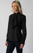 £ 469 Ralph Lauren Womens Black Shirt Size 14 UK - size 10 US Gift For Her NWT