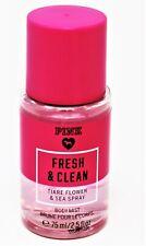 x1 Victoria Secret PINK Travel Body Fragrance Spray Mist 2.5 oz FRESH & CLEAN **
