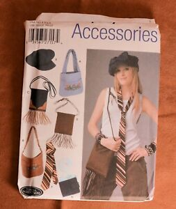 Simplicity Pattern 5308 to make bags cap tie FF UC