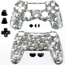 NEW Sony Playtstation 4 PS4 Dualshock Controller Skull Grey Shell + tools AU