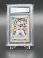 2020 Topps Gypsy Queen Yordan Alvarez Rookie #137 PGA Graded 10 Gem Mint RC