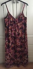 Plus Size 24 Next Signature Strappy Maxi Dress Brand New With Tags