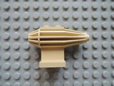 LEGO 1 x Düse Triebwerk Turbine Flugzeug 30358  geriffelt  2x2  beige